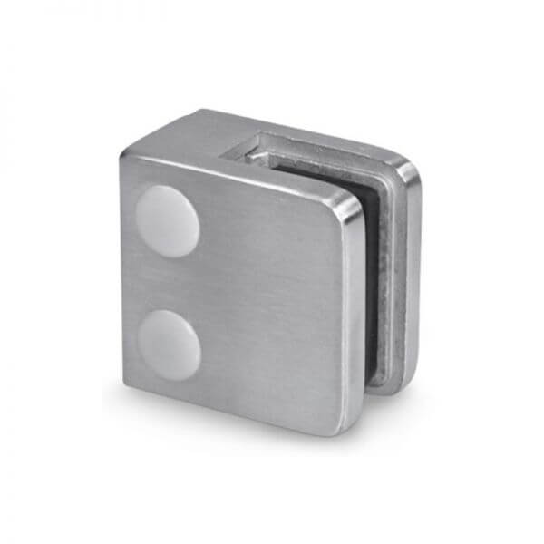 Pince à verre M21 - Inox 304 - Fond plat