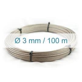 Câble inox 3mm - 100m
