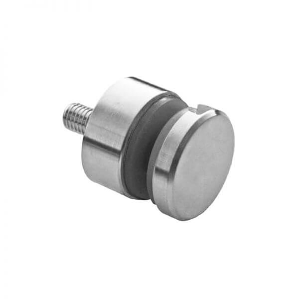 Adaptateur verre 30 mm - Plat - Inox 304