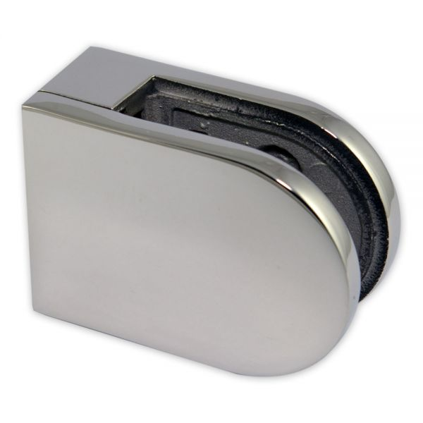 Pince à verre M22 - Inox 316 Poli - Fond plat