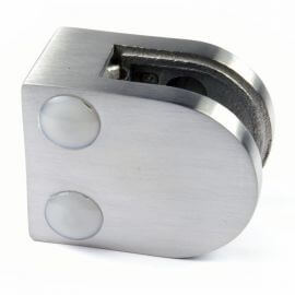 Pince à verre M20 - Inox 316 - Fond plat