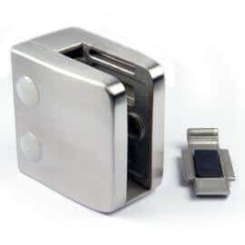 Pince à verre M26 - Inox 316 - Fond plat