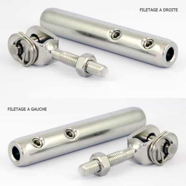 Pack tendeur ECO + chapes câble 6mm