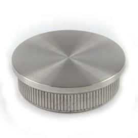 Embout à frapper - Plat - 48,3 - Inox 316