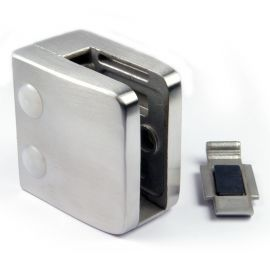 Pince à verre M26 - Inox 304 - Fond plat