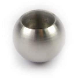 Sphère à coller - 20mm - Inox 316