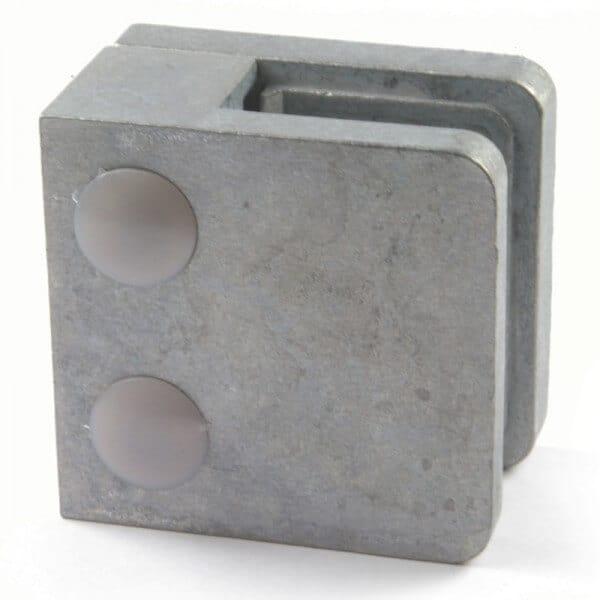Pince à verre M21 - Zamac brut - Fond plat