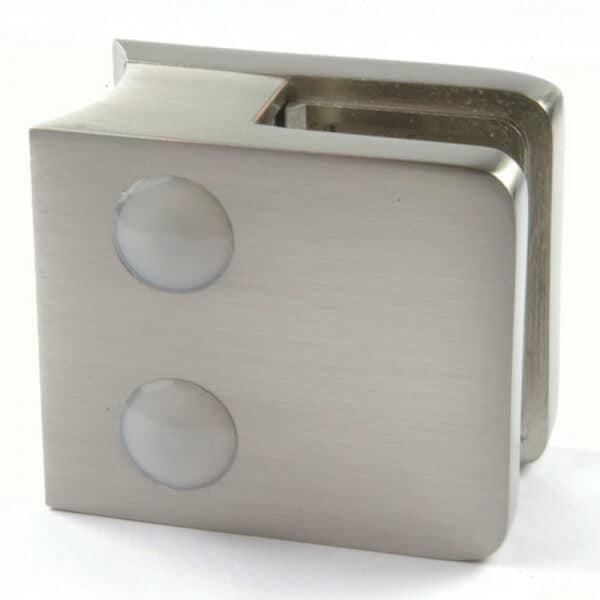 Pince à verre M21 - Zamac aspect inox - Ø 42 mm