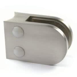 Pince à verre M22 - Zamac aspect inox - Ø 42 mm