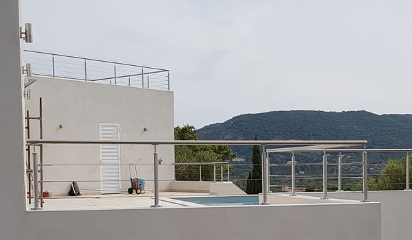balustrade inox a cables