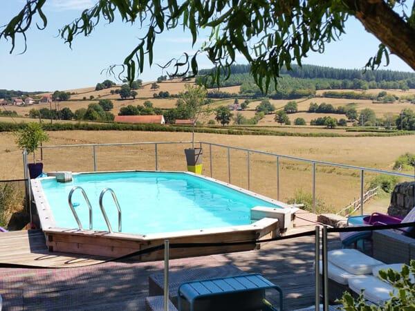 balustrade inox autour piscine