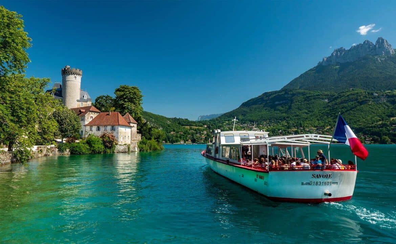 vacances été lac Annecy