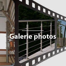 Photos de garde-corps inox, rambarde inox, main courante inox pour terrasse, escalier, mezzanine
